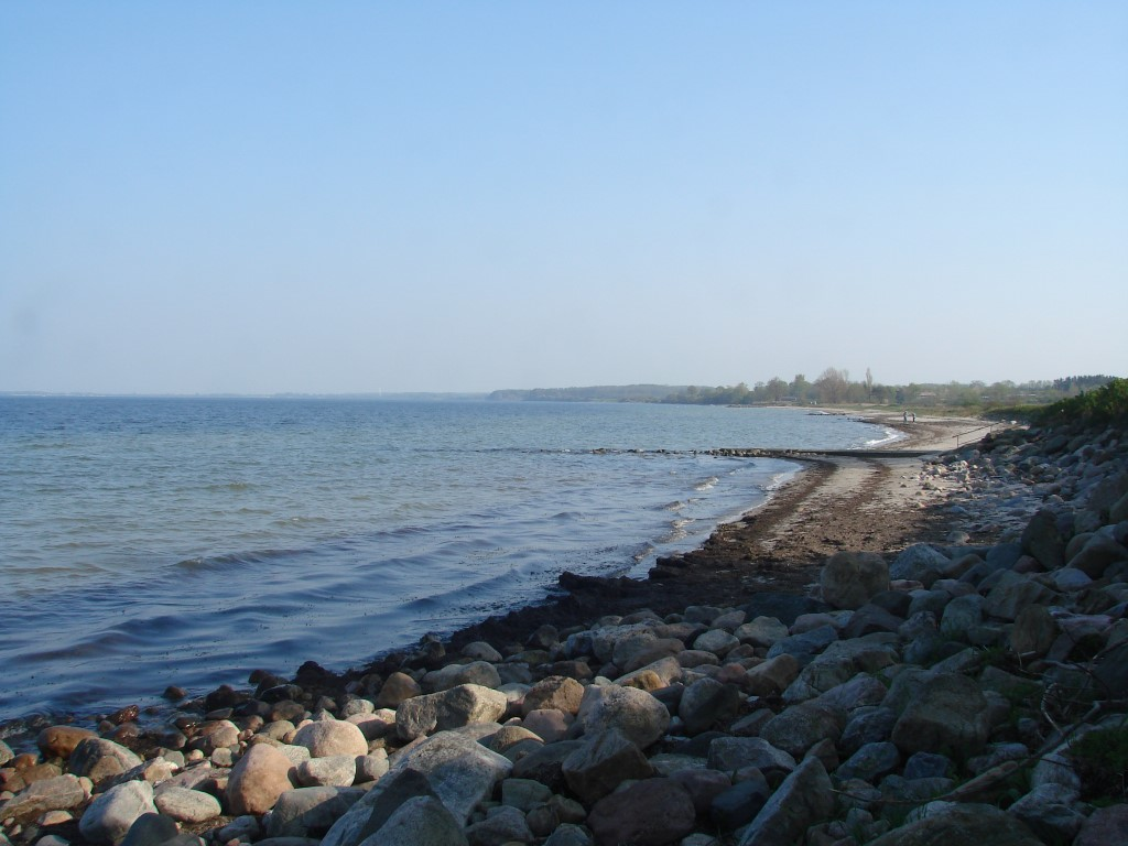 Haken durch die Bucht